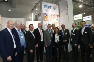 MP Ramelow am FTVT-Stand auf Hannover Messe